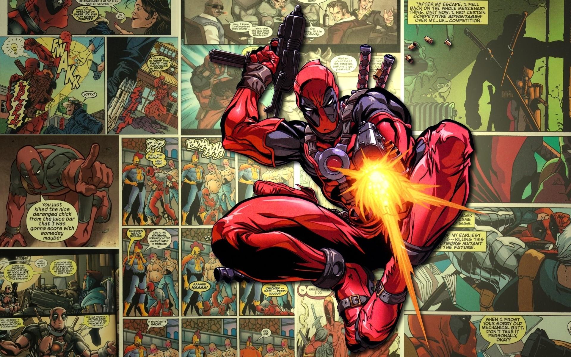 comics deadpool Wallpaper Backgrounds