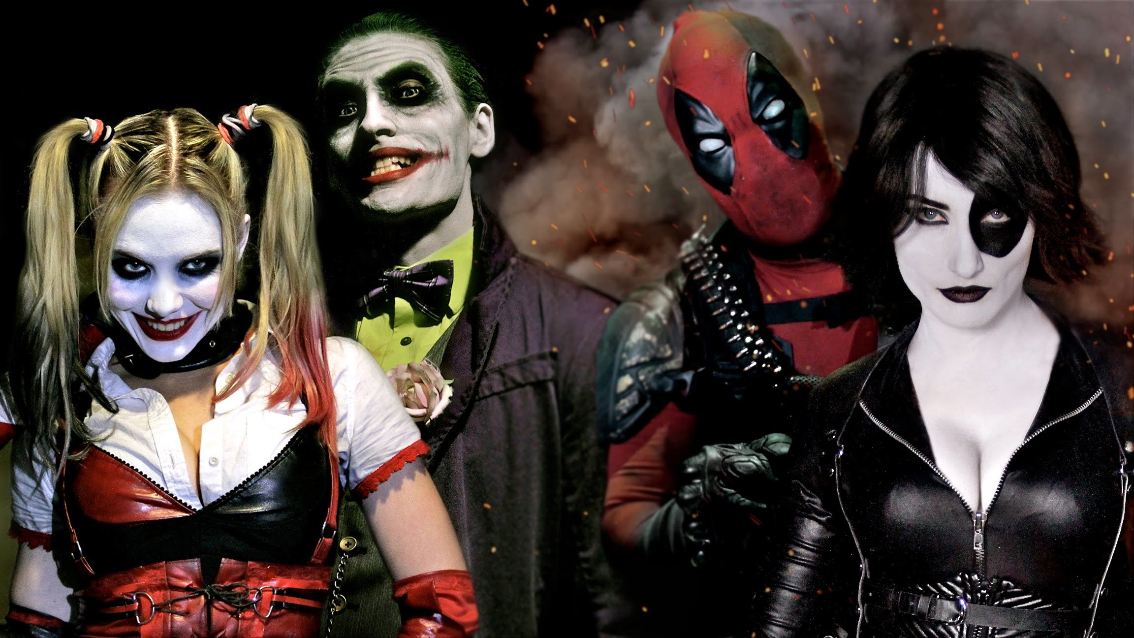 140 Deadpool And Harley Quinn