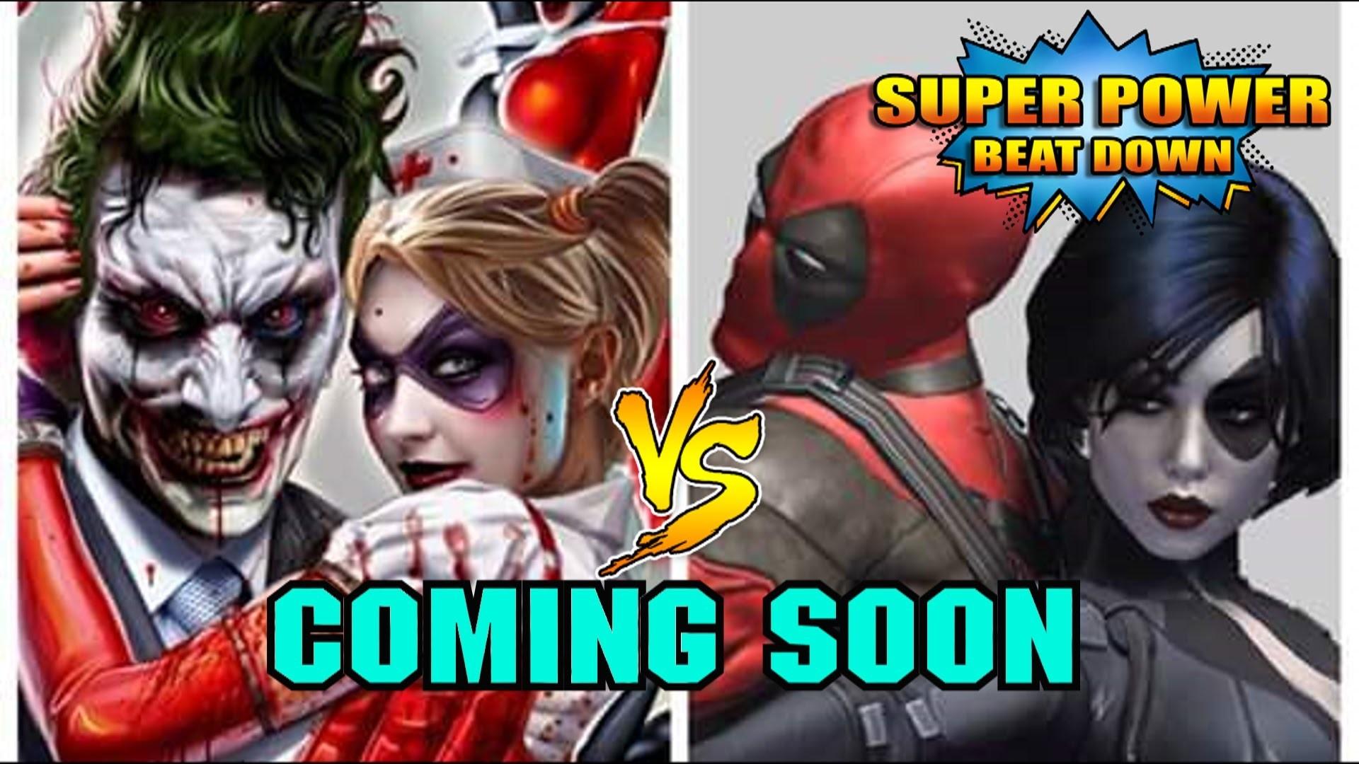 (The Joker and Harley Quinn vs Deadpool and Domino) – YouTube