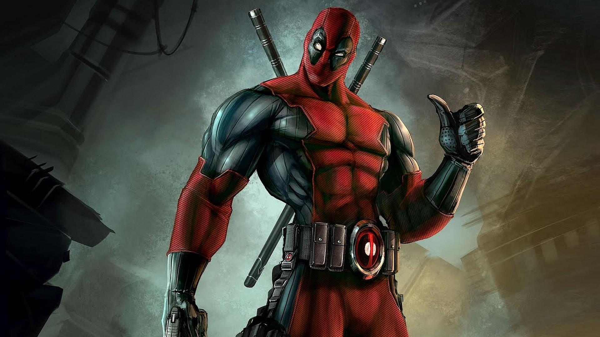 Deadpool HD Desktop Background