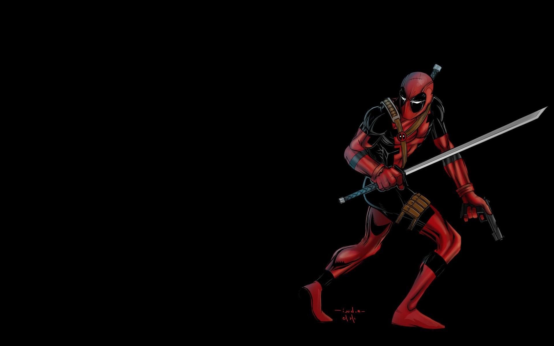 Deadpool Desktop Background Wallpaper.