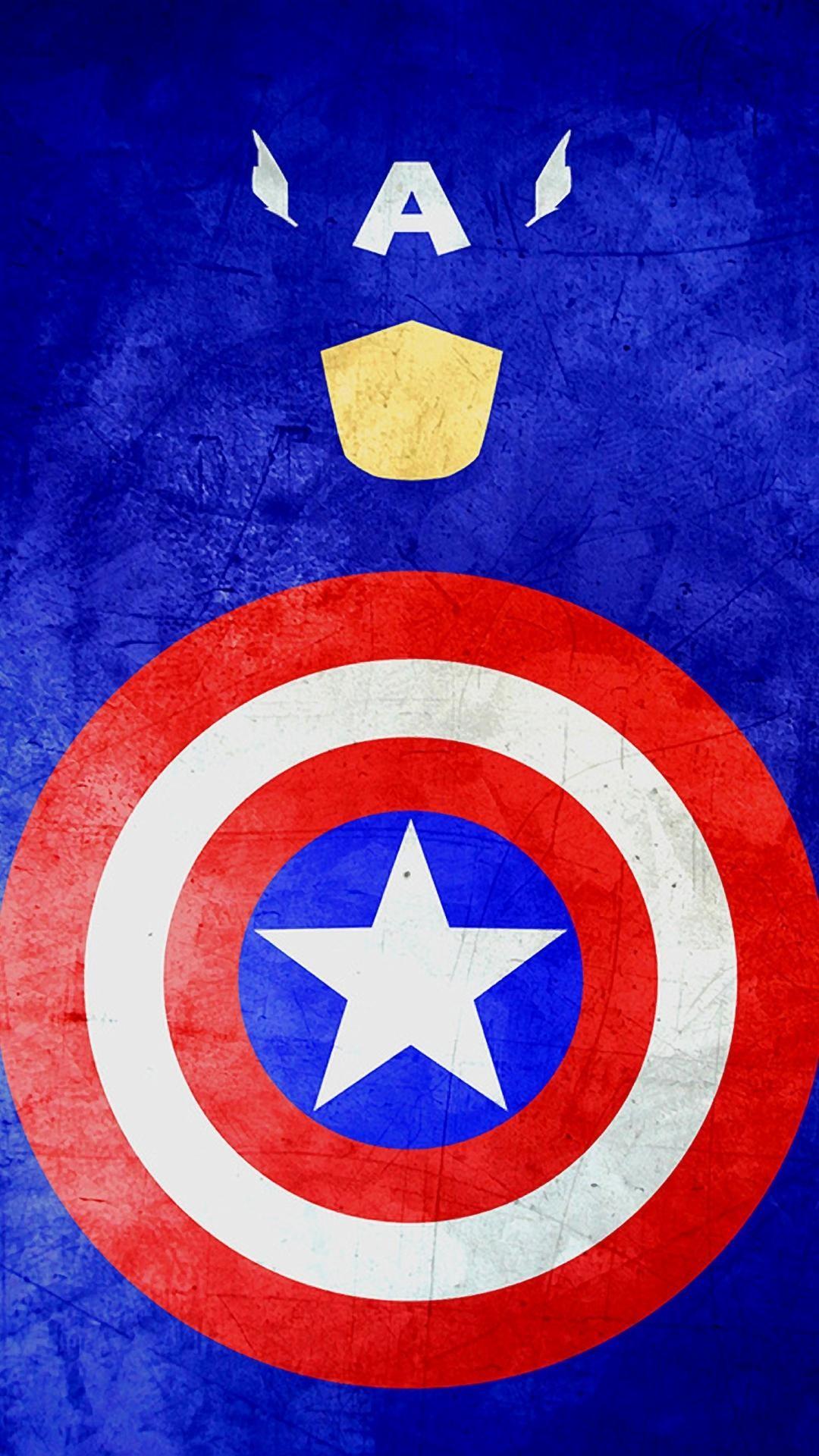 Captain-America-Minimal-Grunge.-1080%C3%971920-wallpaper