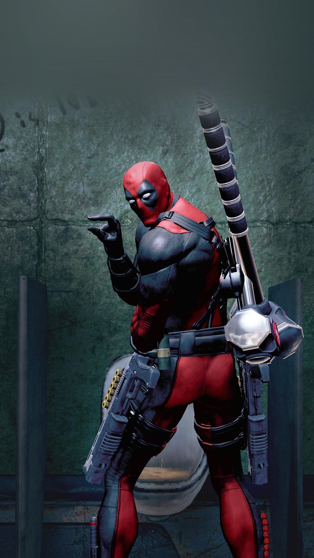 cool deadpool-superhero-art-pee-marvel-iphone6-plus-wallpaper