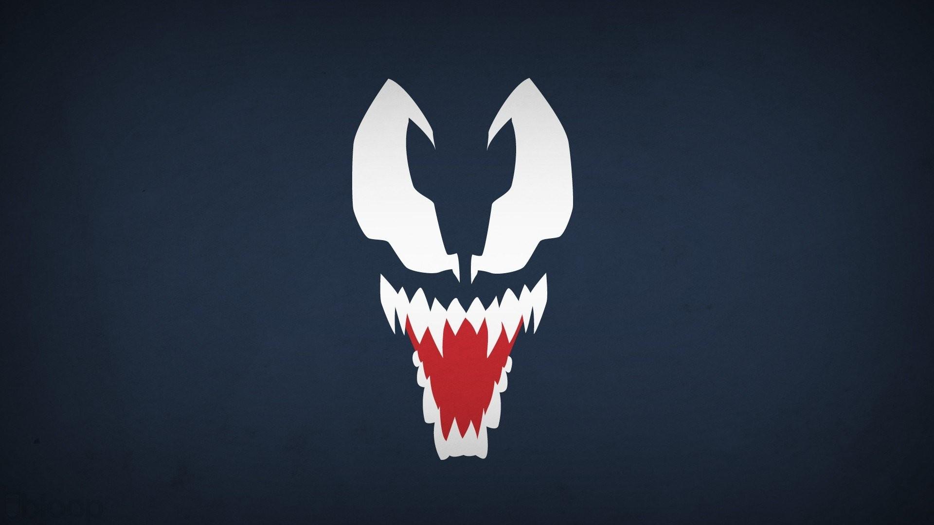 Blo0p Blue Background Marvel Comics Navy Venom Villians …