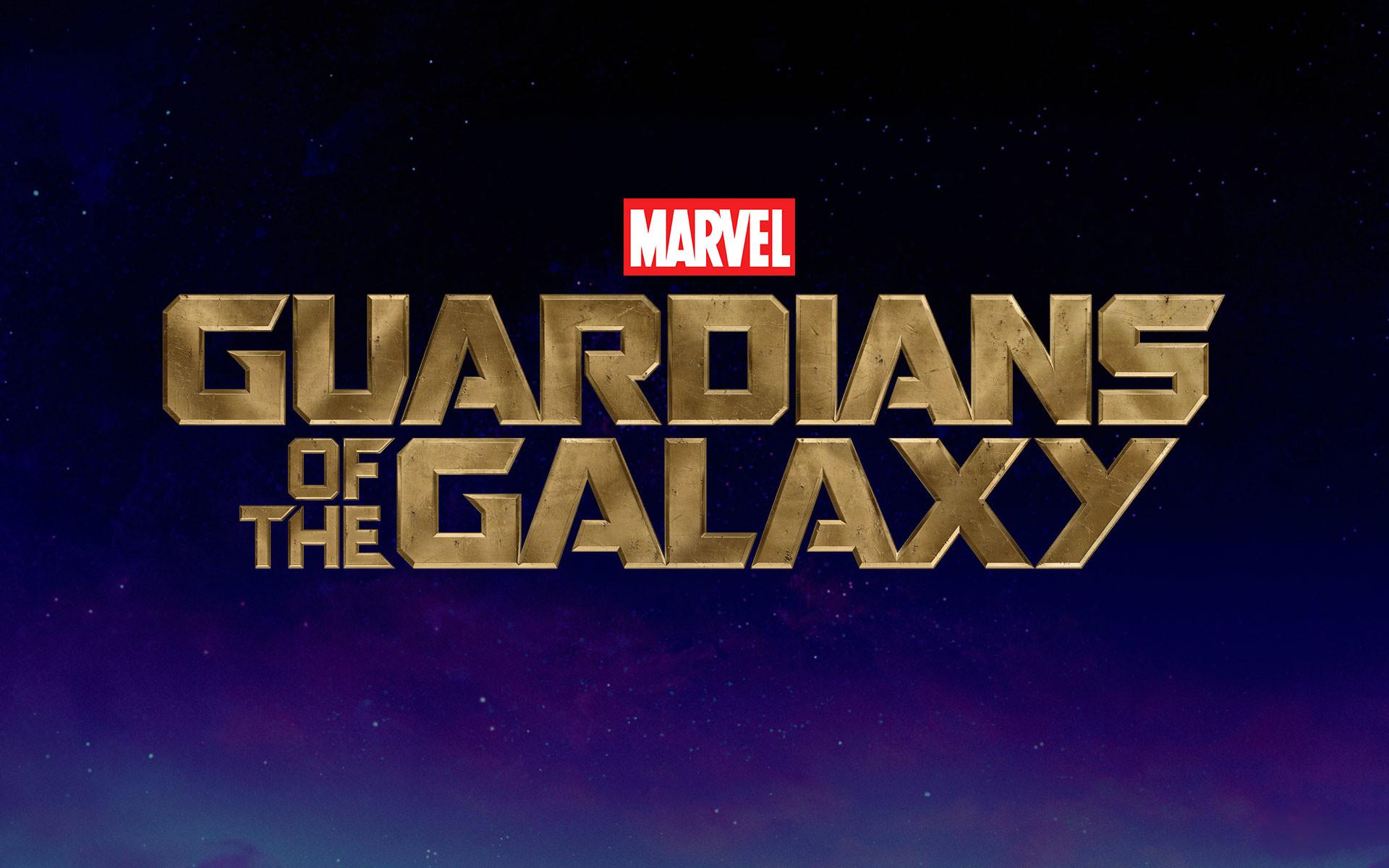 Marvel's Guardians of the Galaxy Logo HD Wallpaper