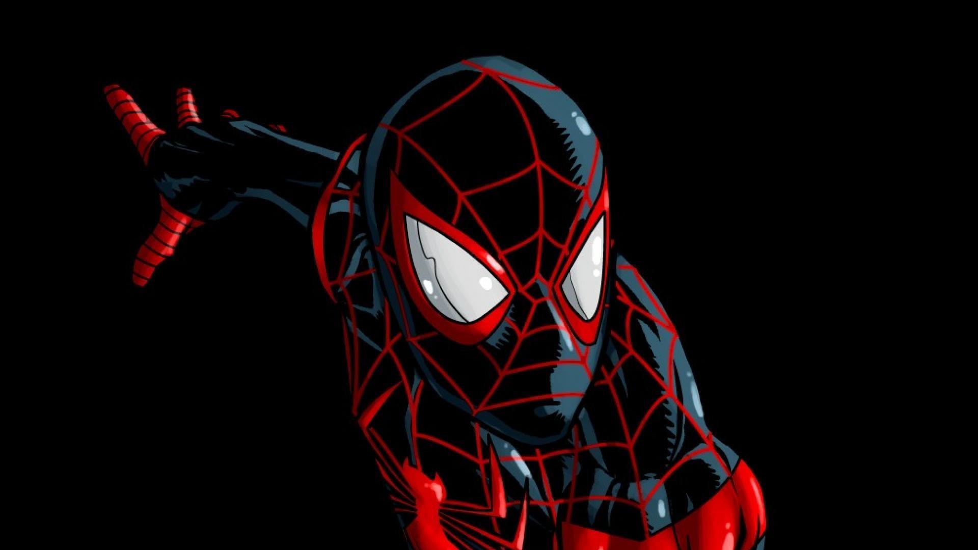 Comics spider-man superheroes marvel ultimate miles morales wallpaper .