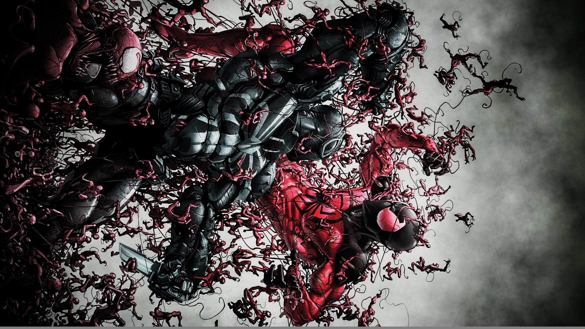 Agent Venom Vs. The Scarlet Spider by ProfessorAdagio on DeviantArt