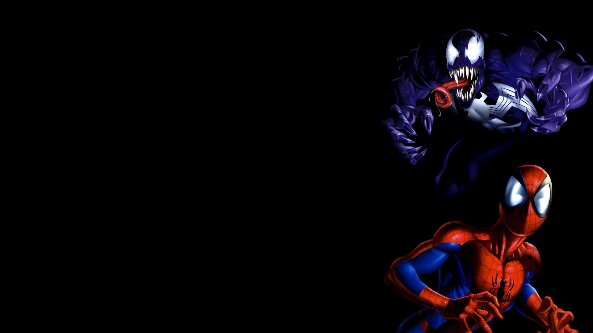 Venom Spider-man Marvel Comics / Wallpaper
