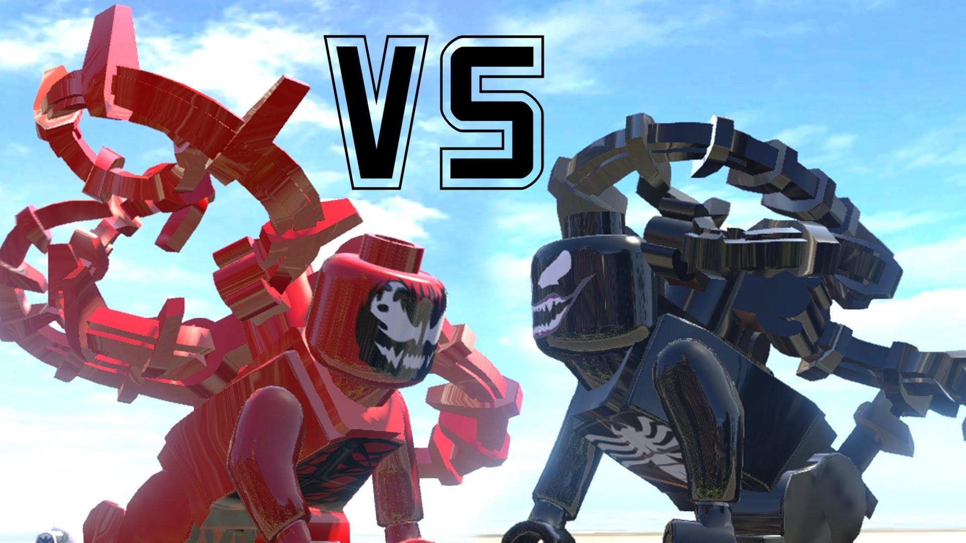 VENOM (TRANSFORMATION) VS CARNAGE – (AMAZING BATTLE FIGHT) LEGO MARVEL  SUPER HEROES GAME – YouTube