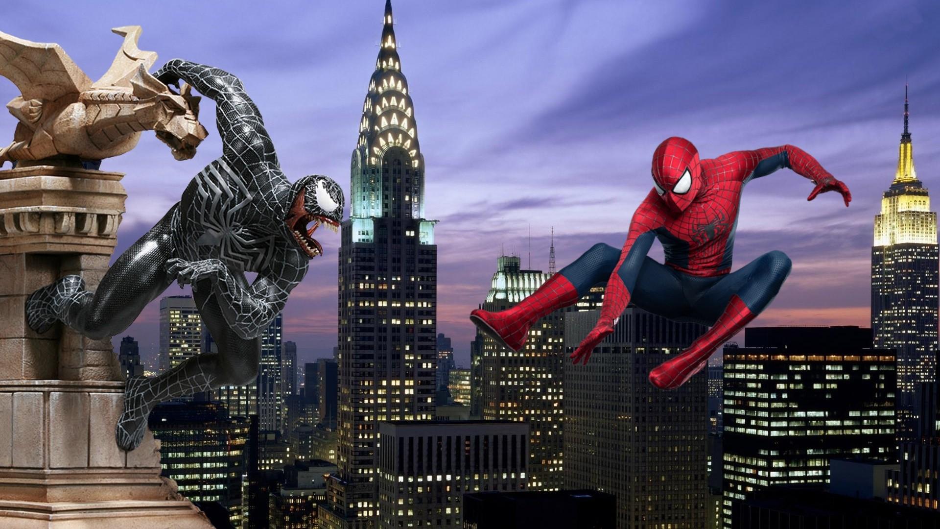Spiderman vs venom vs carnage vs lizard – photo#19