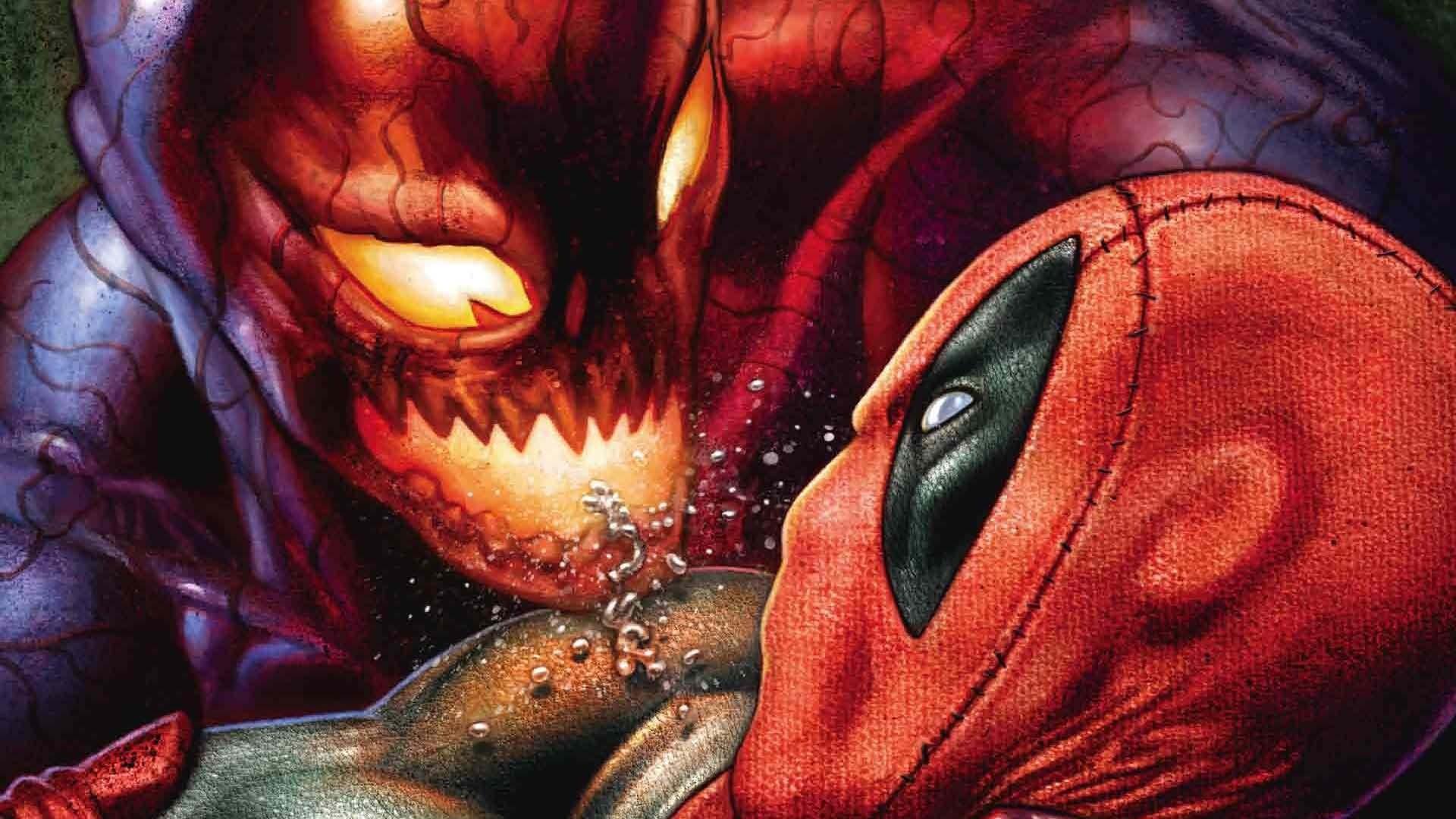Comics Deadpool Vs. Carnage Deadpool Wallpaper