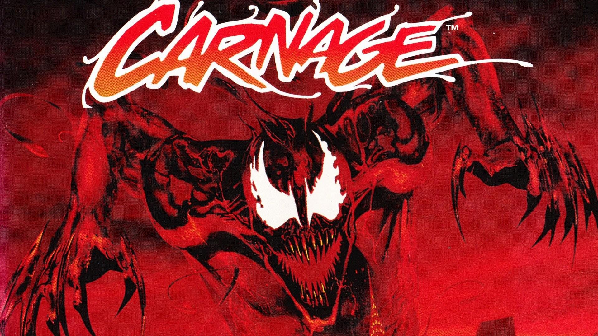 Spider-Man Venom Maximum Carnage scrolling fighting action superhero .