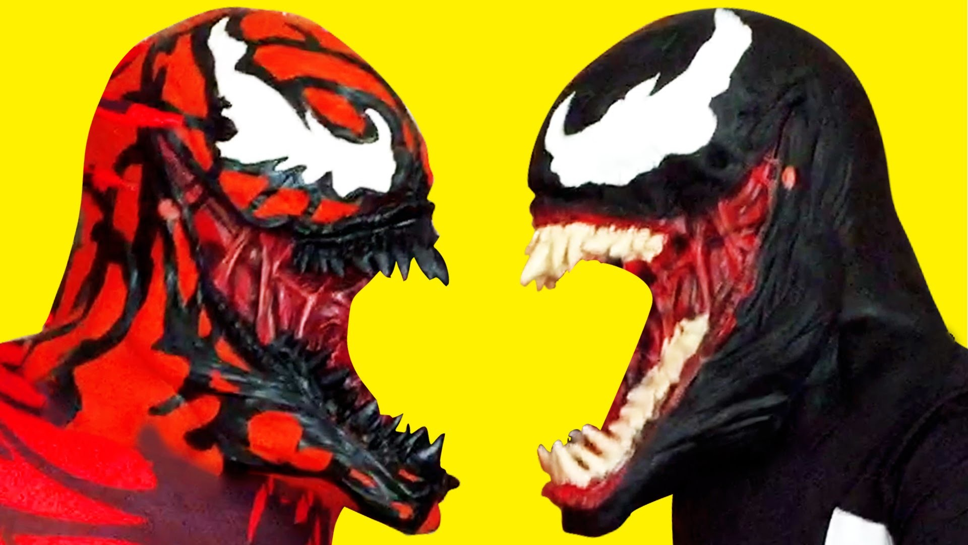 Venom Spiderman Villains vs Carnage Cereals Battle – Superhero in Real Life  Fun Movie