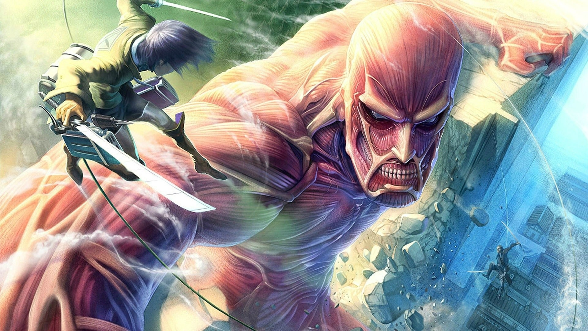 HD Wallpaper | Hintergrund ID:557030. Anime Attack On Titan