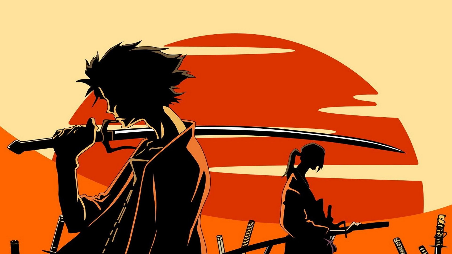 Samurai Champloo Torii Umbrella · HD Wallpaper | Background ID:439003