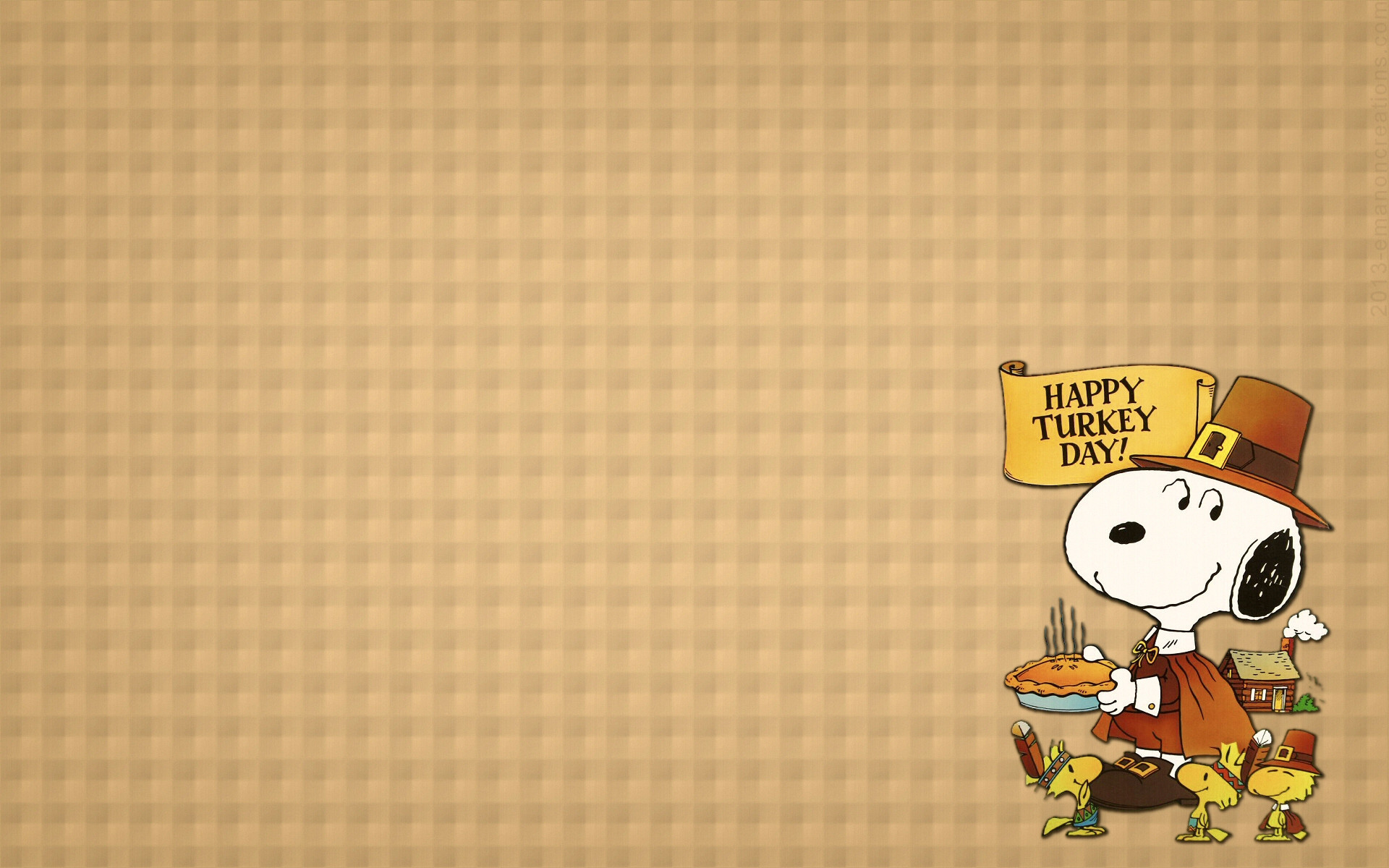 Snoopy thanksgiving backgrounds