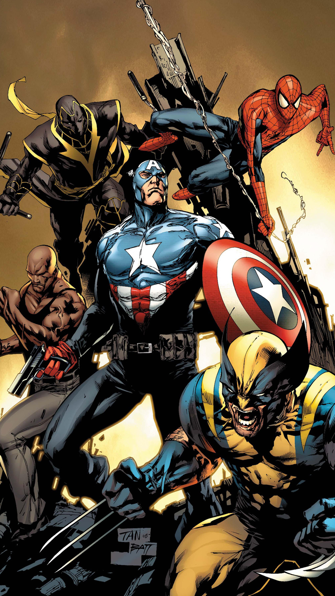Avengers Wallpapers iPhone 6 Plus · iPhone 6