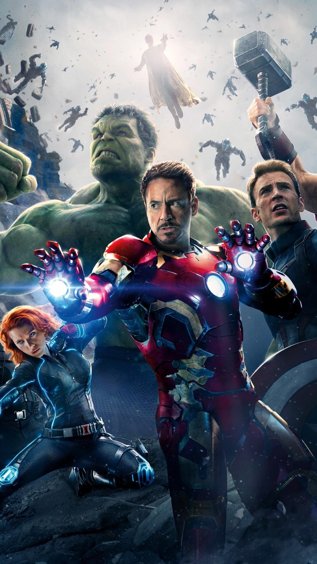 Avengers Iphone Full HD Wallpaper.