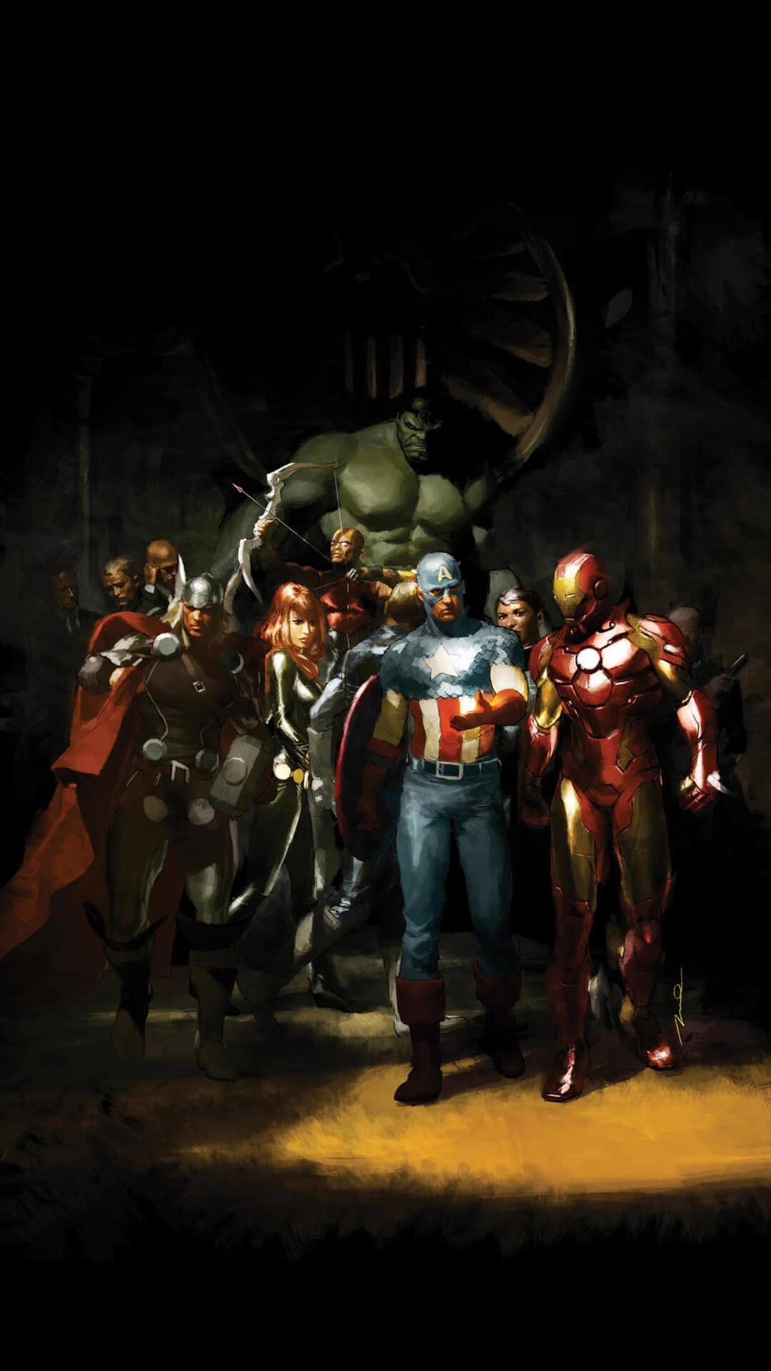 Captain America iPhone Backgrounds | PixelsTalk.Net