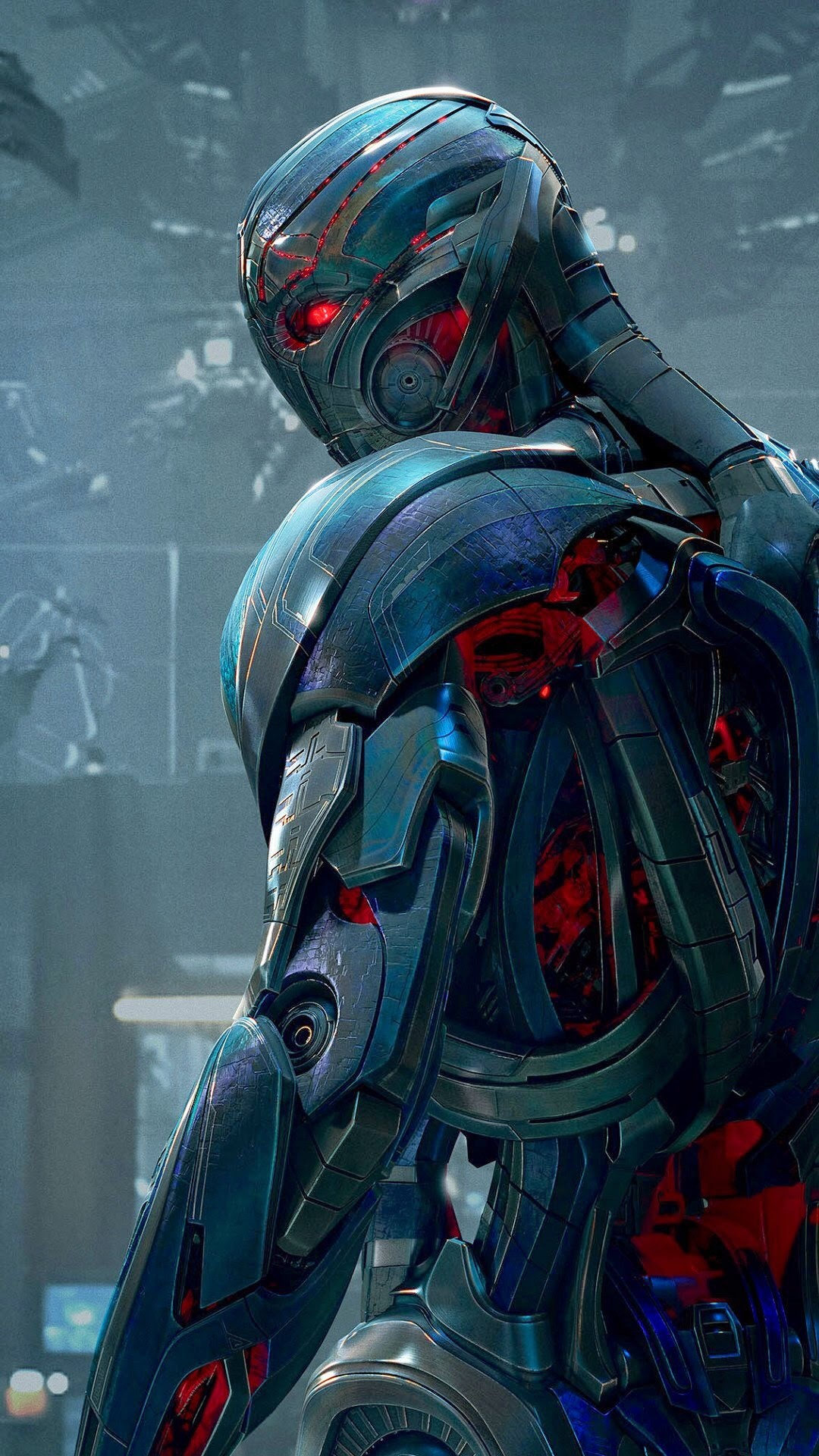 Ultron – Tap to see Avengers: Age of Ultron Apple iPhone HD Wallpapers  Collection –