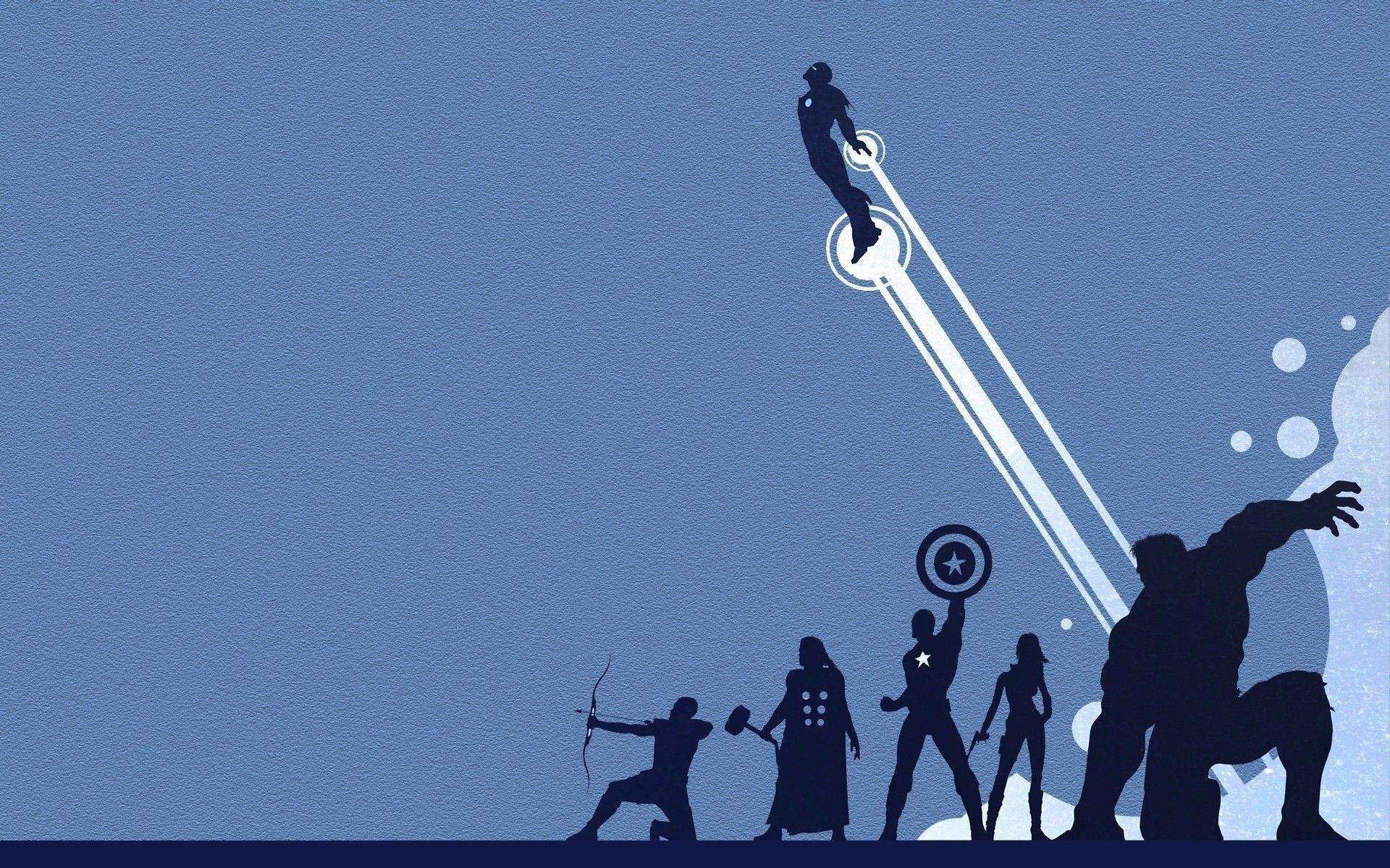 Wallpapers For > Avengers Logo Wallpaper