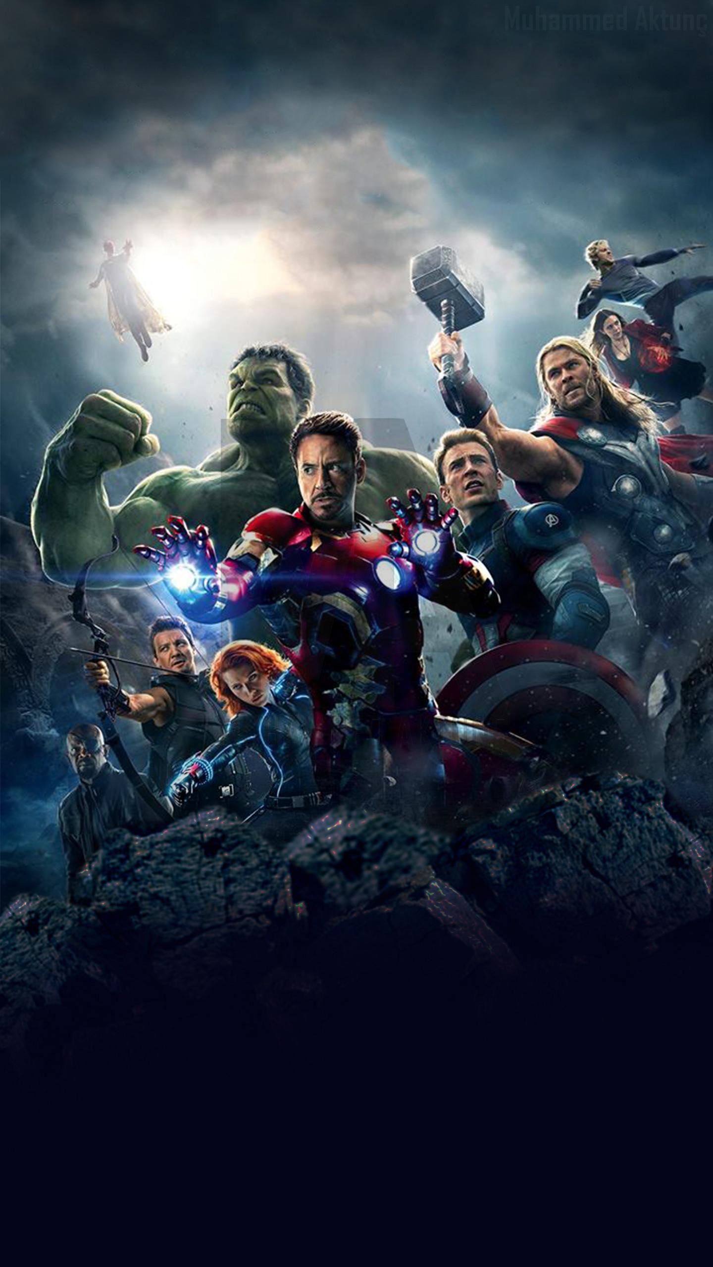 … Desktop Avengers Phone Wallpaper