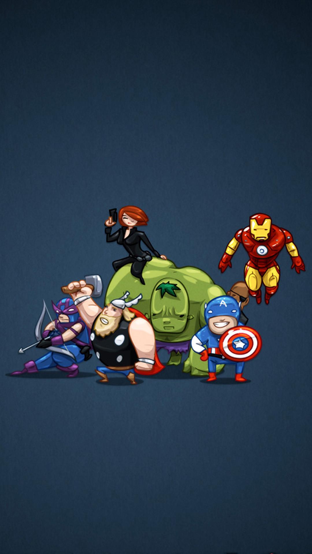 The Avengers iPhone 5 Wallpaper