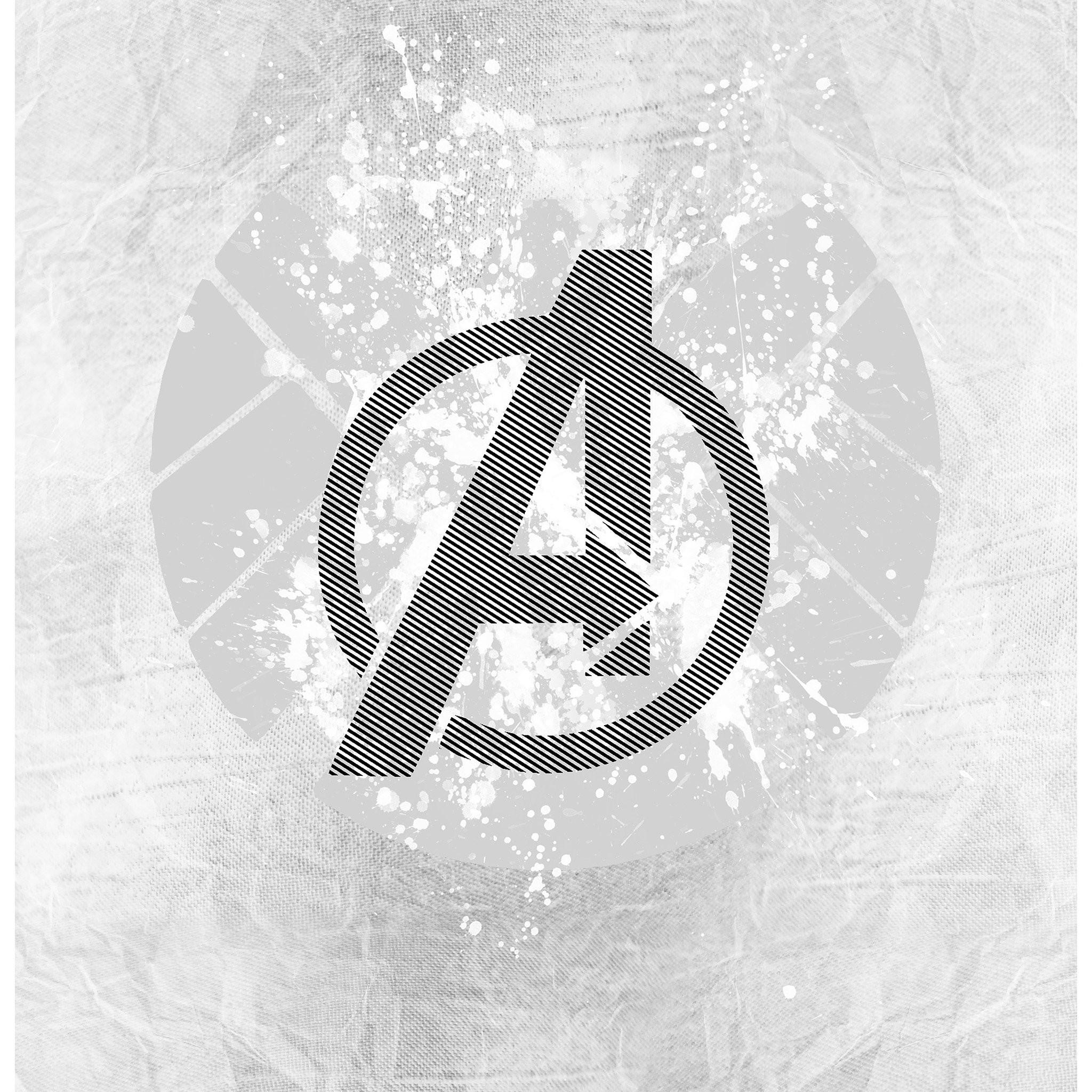 … avengers logo art hero white ipad air wallpaper download iphone …