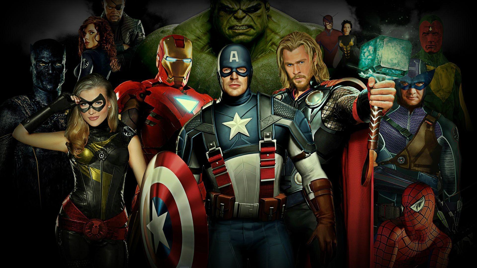 Avengers Assemble Wallpaper Superheroes Wallpaper Free