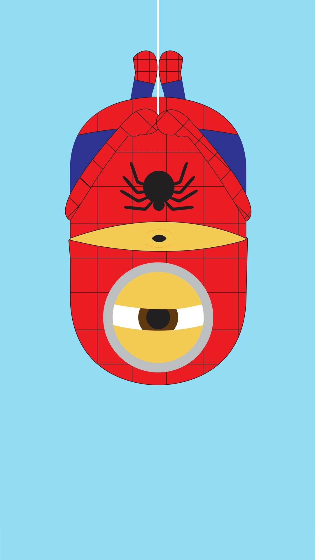 2014 spider-man minion iphone 6 plus wallpaper from Despicable Me for  Halloween #2014