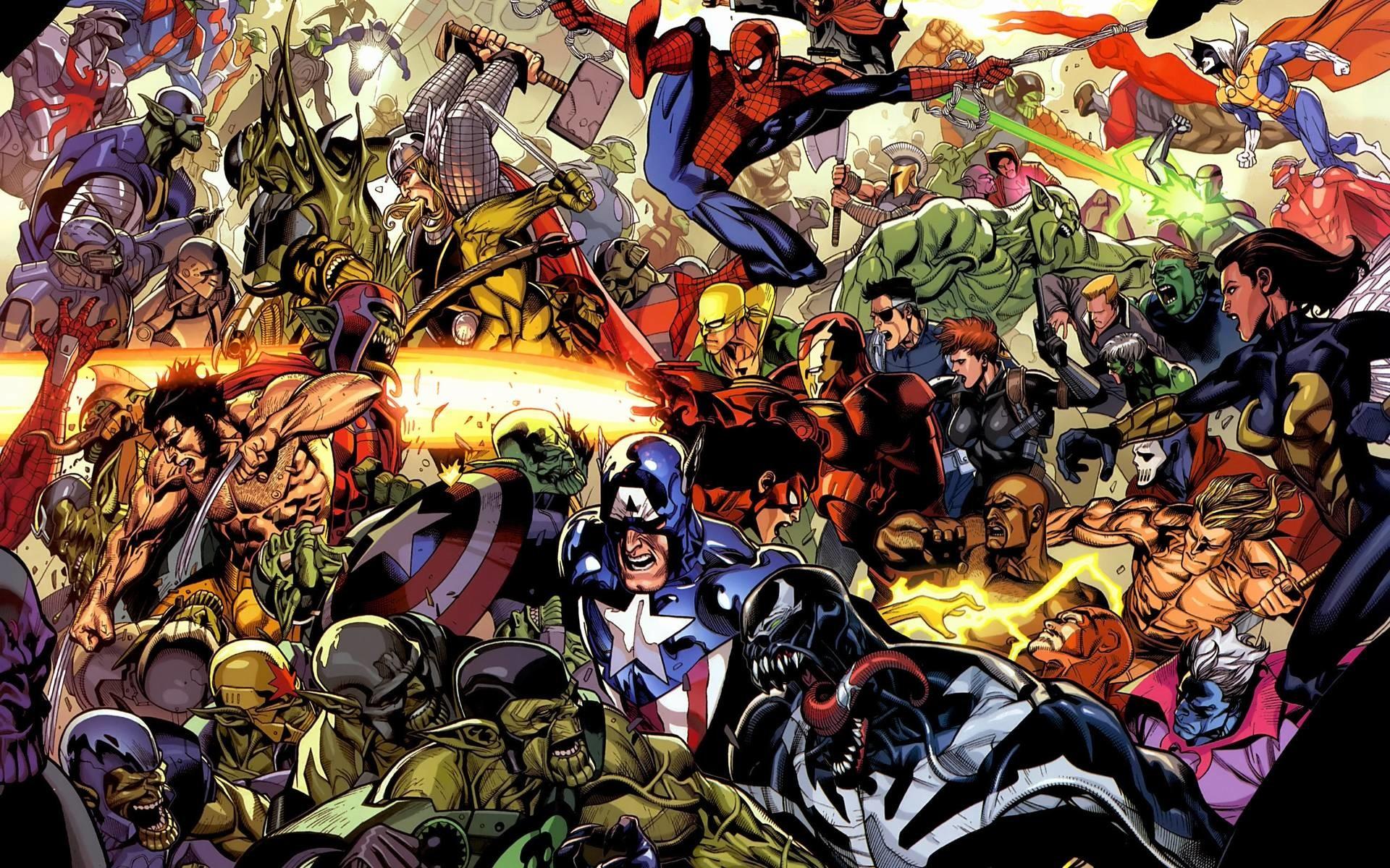 Wallpapers For > Avengers Comic Wallpaper Hd