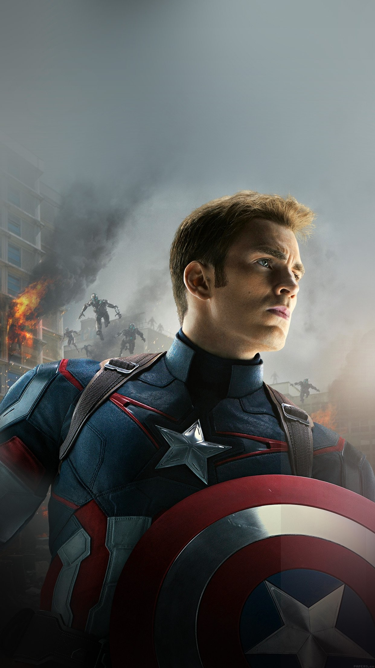 avengers age of ultron captain america chris evans iPhone 7 wallpaper