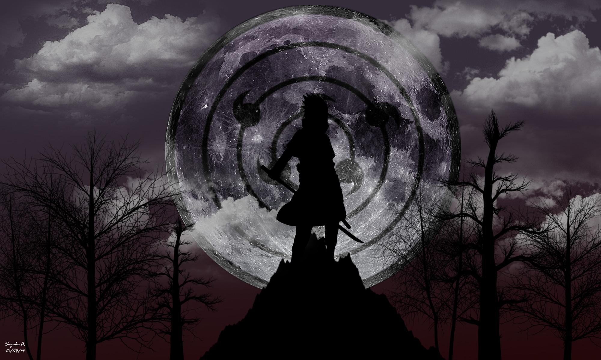 … Sasuke Uchiha Rinnegan [Moon Eye] Wallpaper by SuzukeAmaterasu