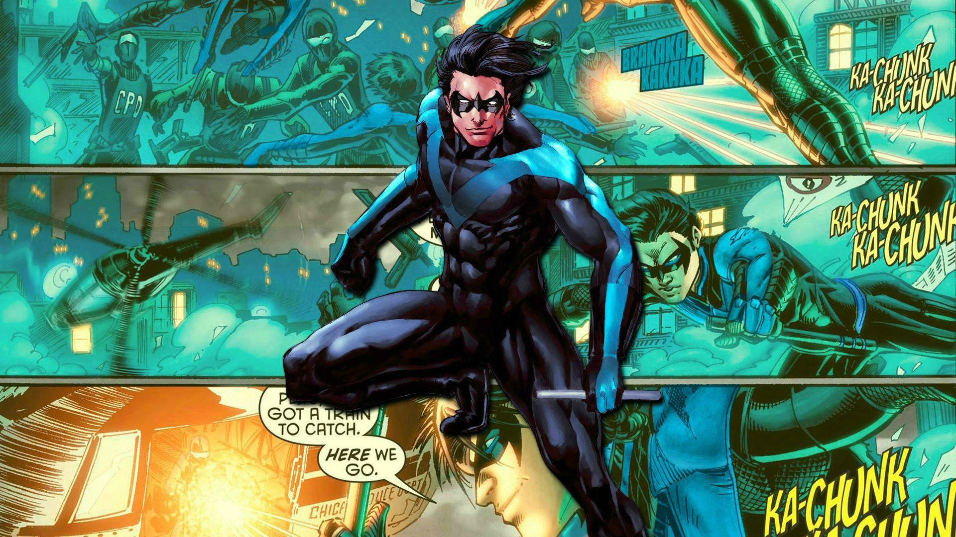 New Nightwing Wallpaper   HD Wallpapers   Pinterest   Wallpaper, Hd  wallpaper and deviantART