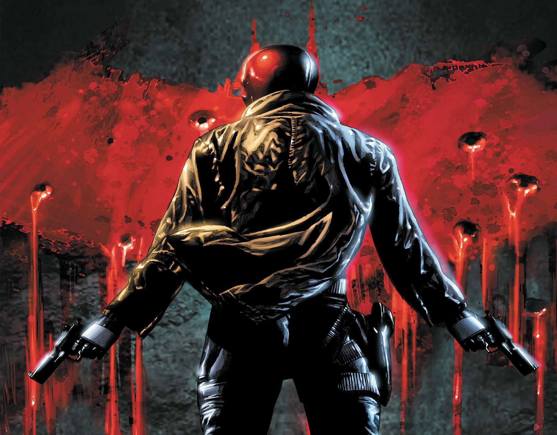 Batman, DC Comics, Red Hood :: Wallpapers