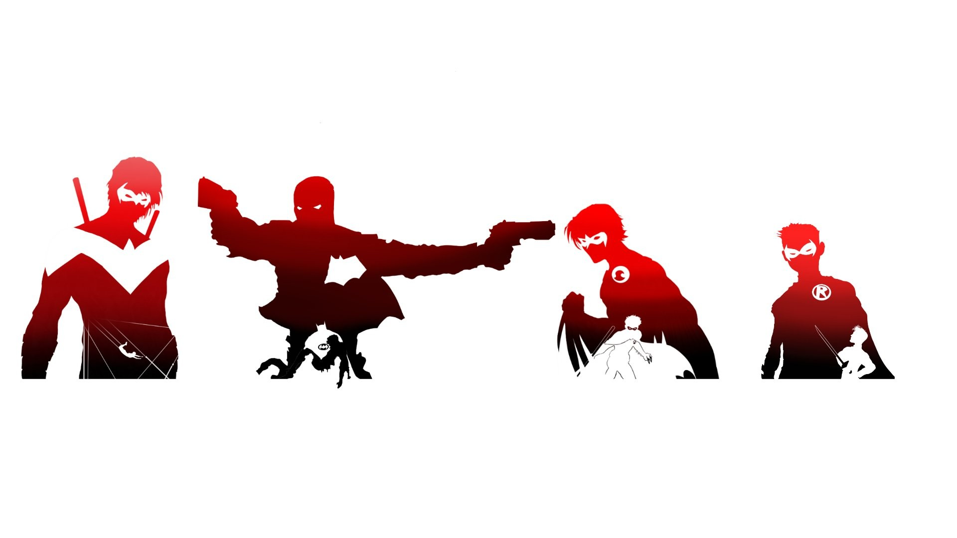 RED HOOD OUTLAWS dc-comics d-c comics superhero heroes hero 1rho batman  wallpaper   1920×1080