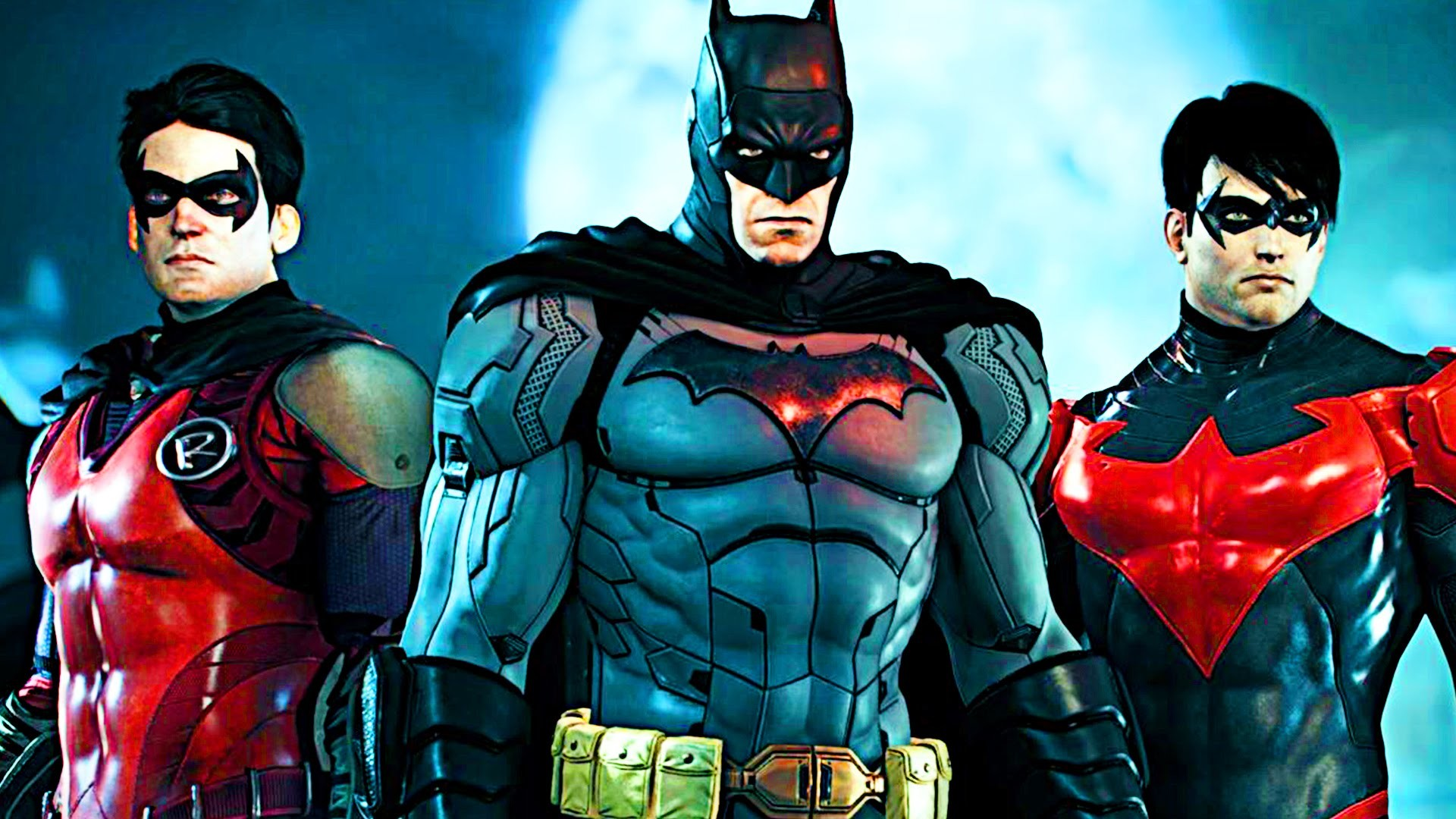 BATMAN ARKHAM KNIGHT: NEW 52 SKIN PACK (ROBIN, NIGHTWING, BATMAN) SHOWCASE  HD – YouTube