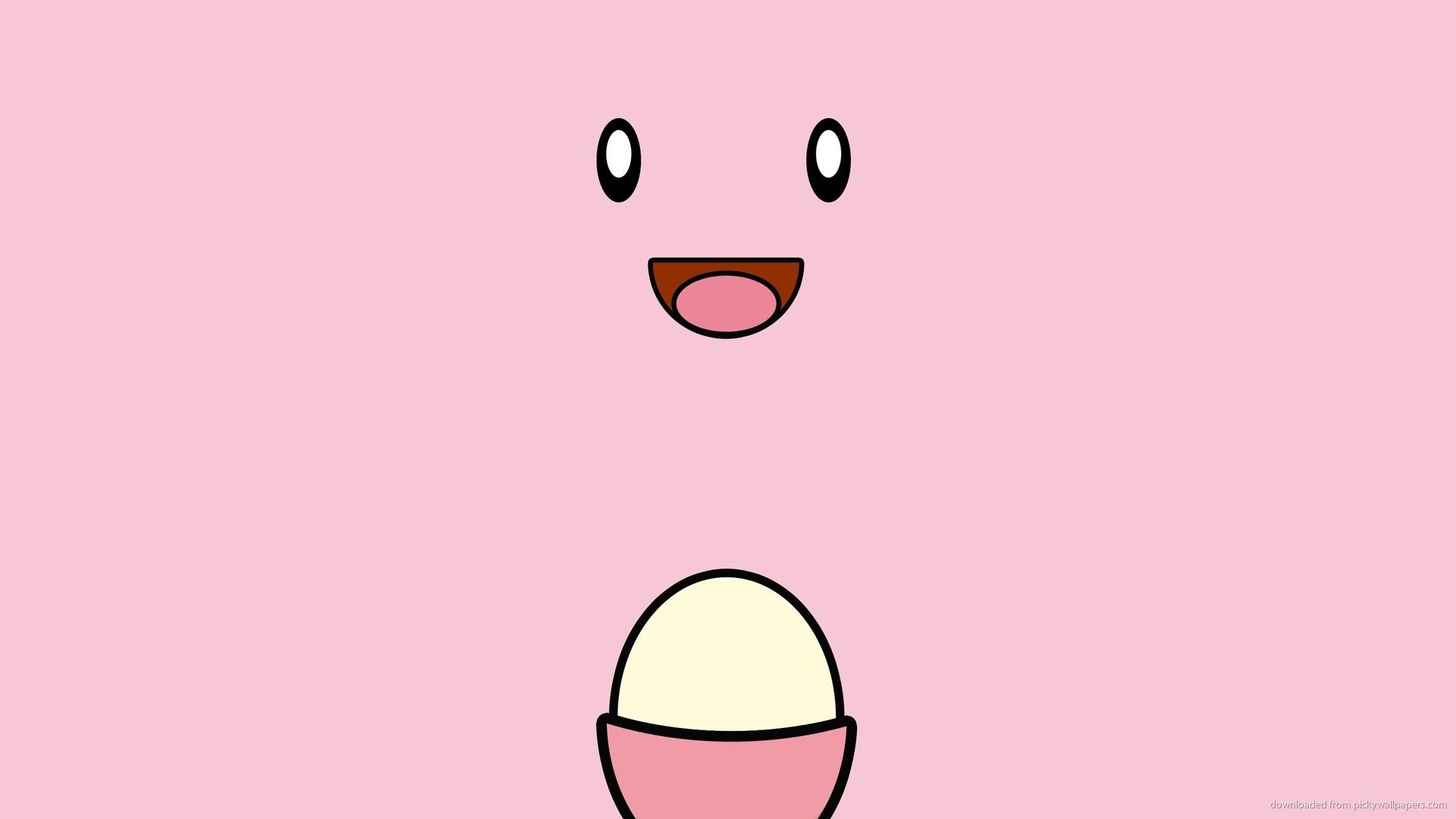2560×1440 Simple Chansey Pokemon Wallpaper wallpaper