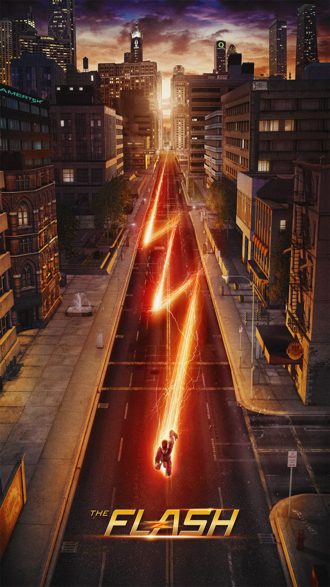 Wallpaper Weekends: The Flash for Your iPhone 6 Plus   MacTrast