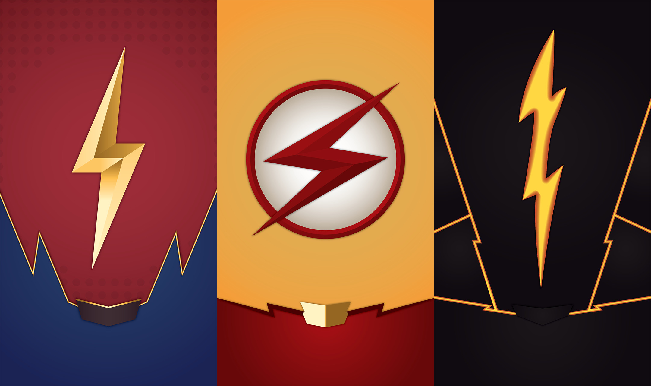 When I showed my friend these wallpapers, they said they liked the Reverse  Flash one. We are no longer friends.