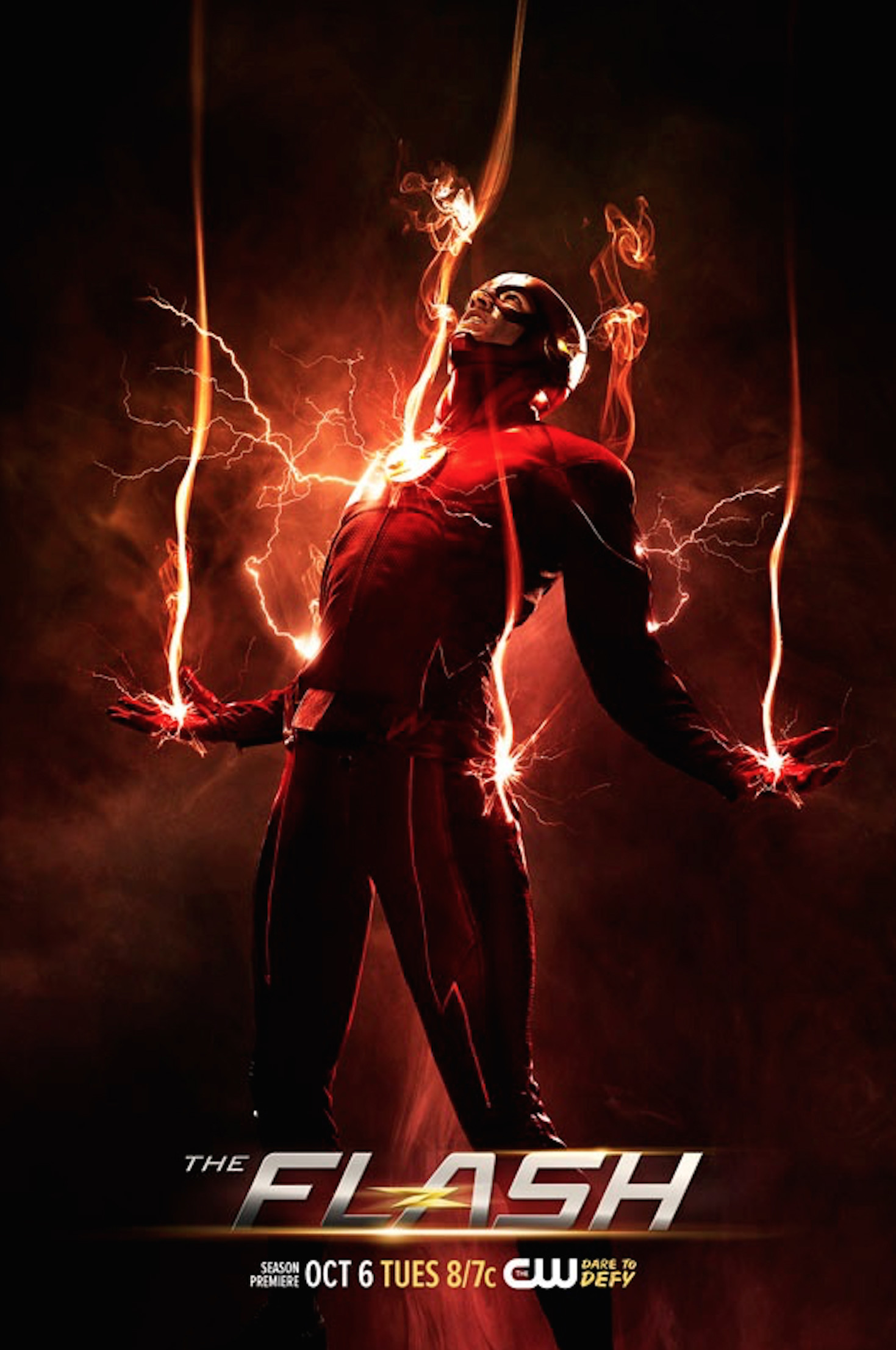 (Credit: The CW) The Flash Season 2 Poster Teaser