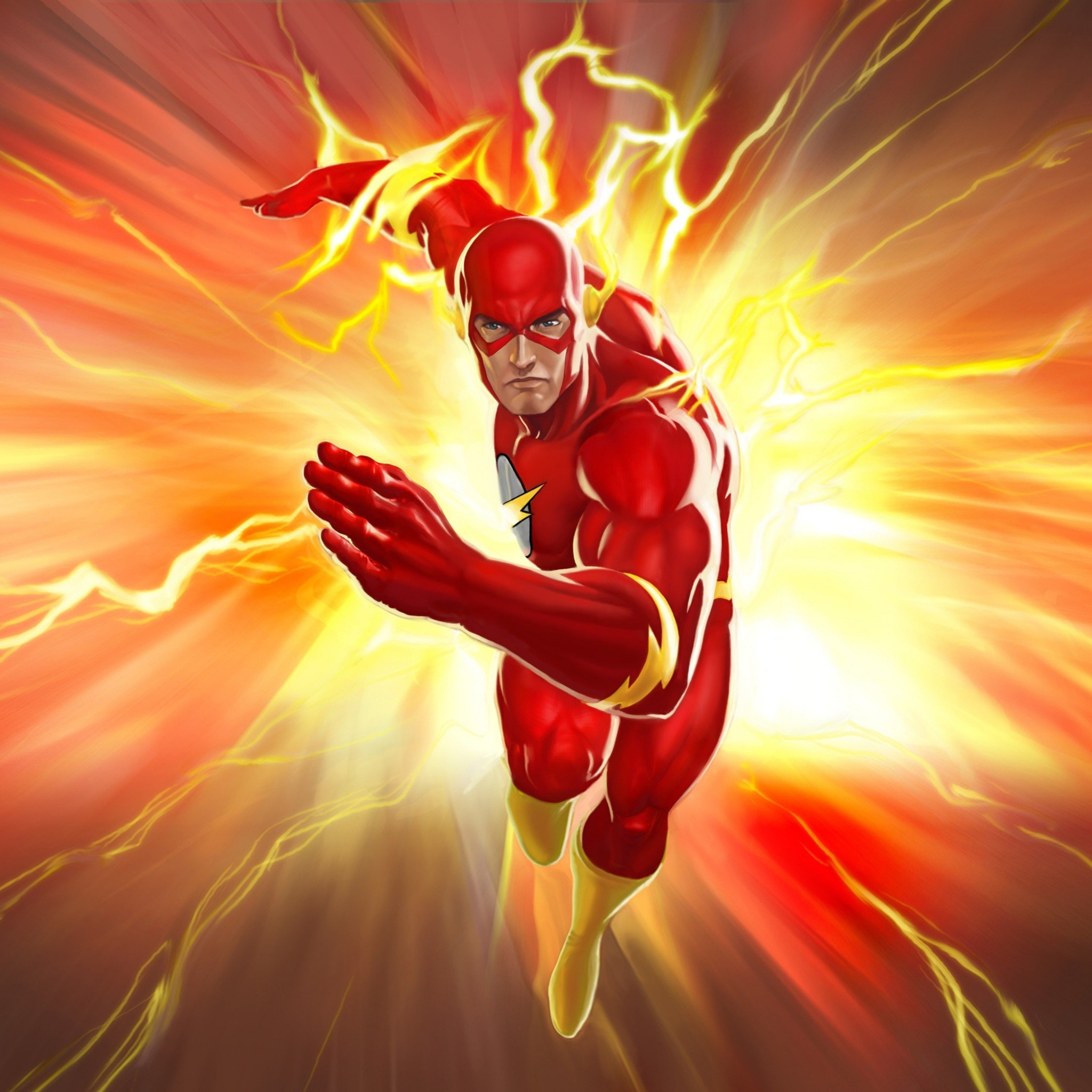 Flashing The Flash. Tap to see more Barry Allen The Flash iPhone, iPad &  Android wallpapers, backgrounds, fondos!