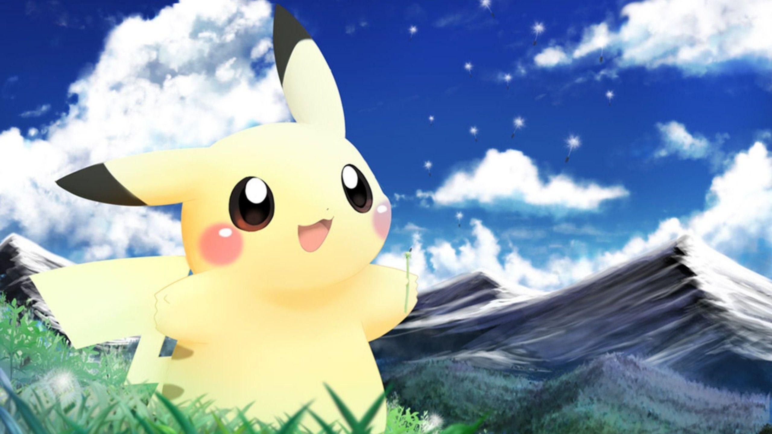 Wallpapers Pokemon Nature Pikachu Anime Movie Free .