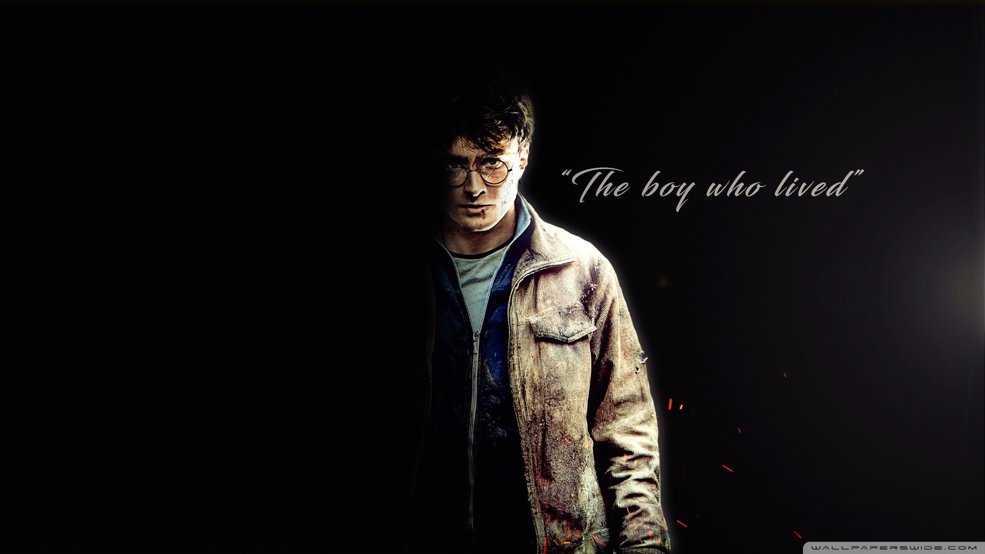 Harry Potter – The boy who lived HD Wide Wallpaper for Widescreen
