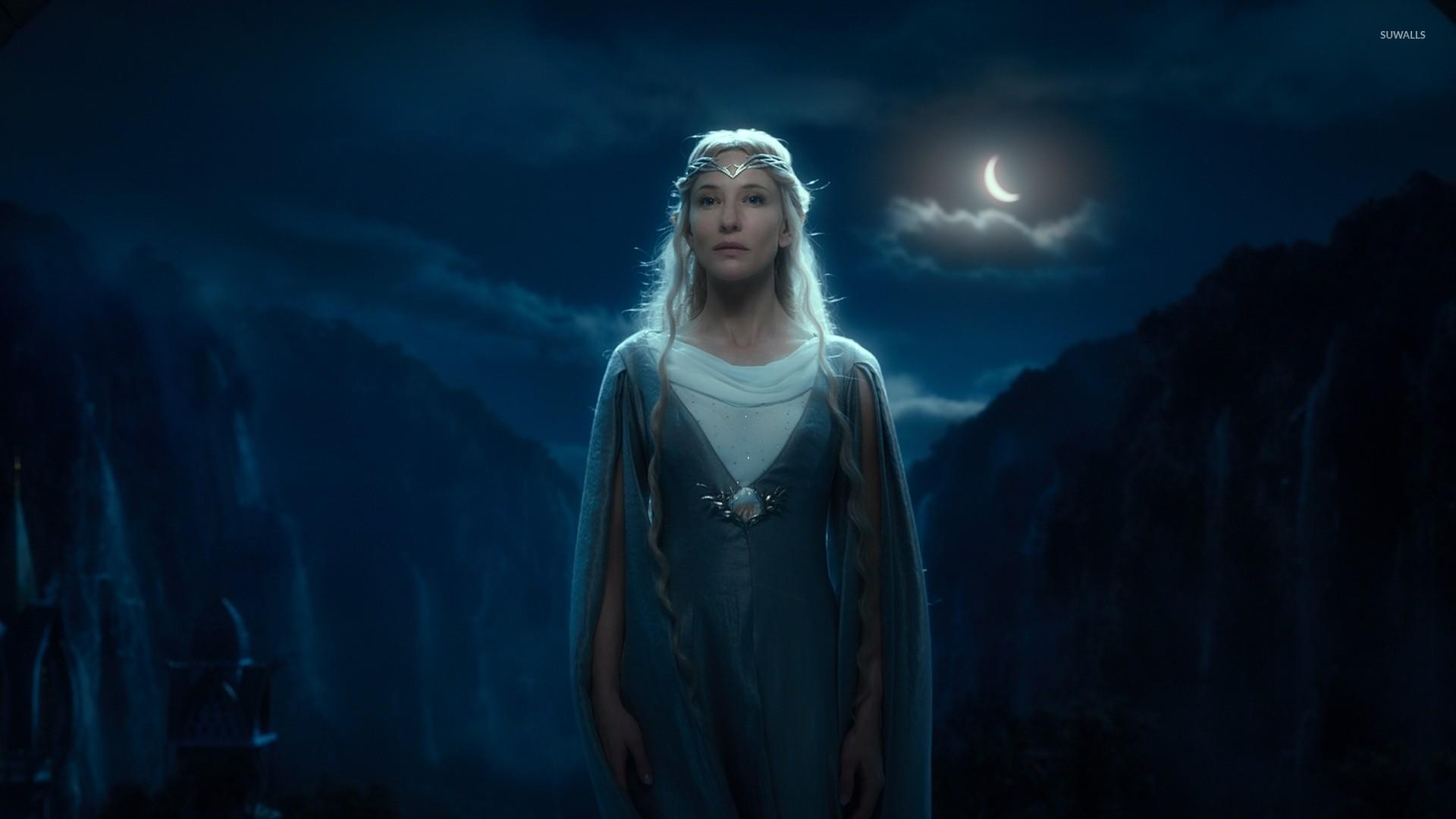 Galadriel in The Hobbit: An Unexpected Journey wallpaper jpg