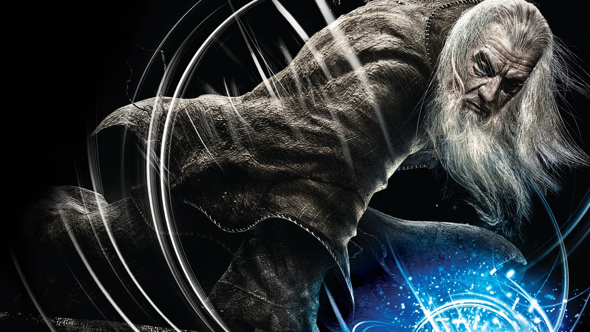 Wallpaper the lord of the rings, guardians of middle-earth,  gandalf,