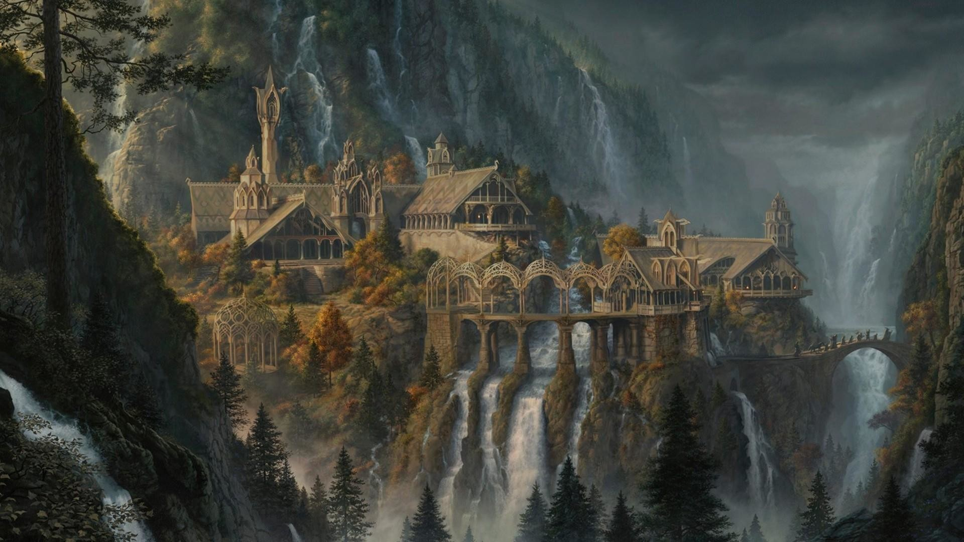 General-1920×1080-fantasy-art-waterfall-Rivendell-The-Lord-