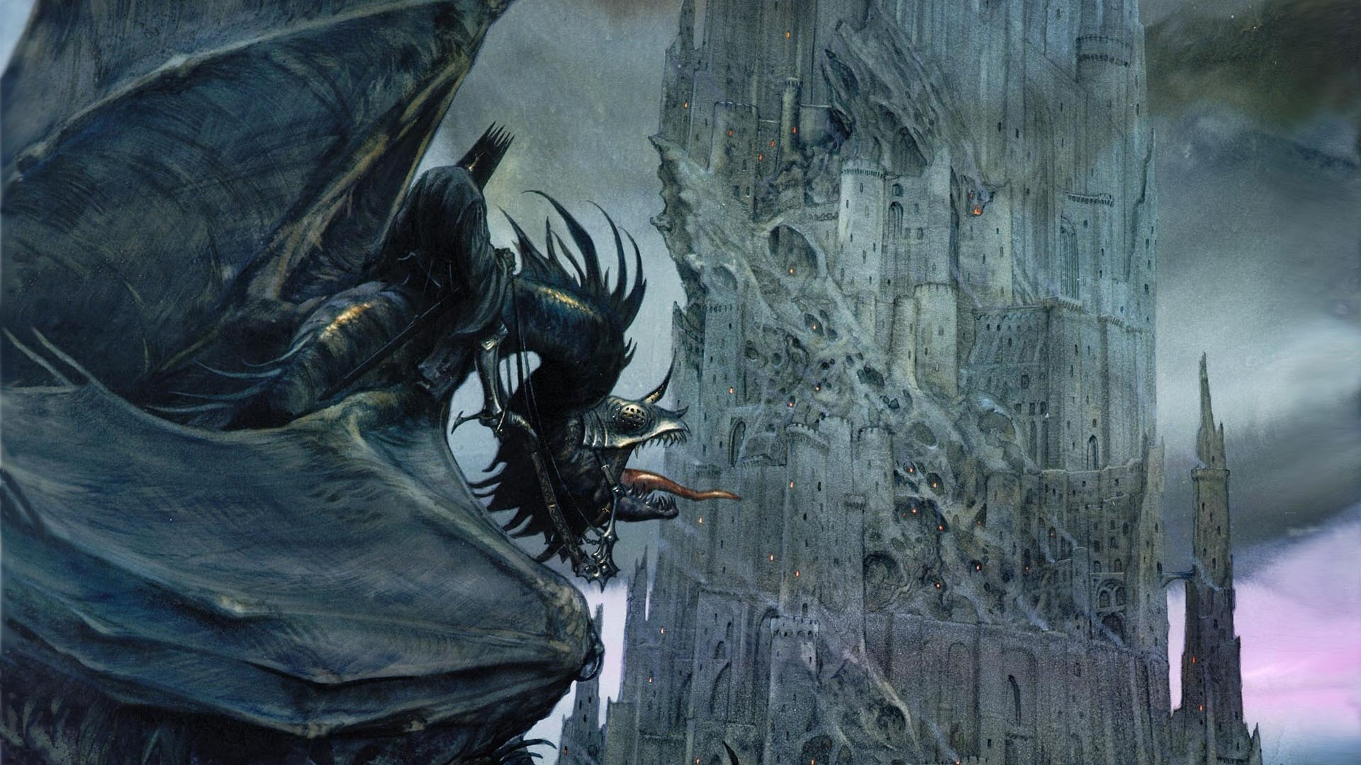 Barad-dur – The Lord of The Rings HD Wallpaper …