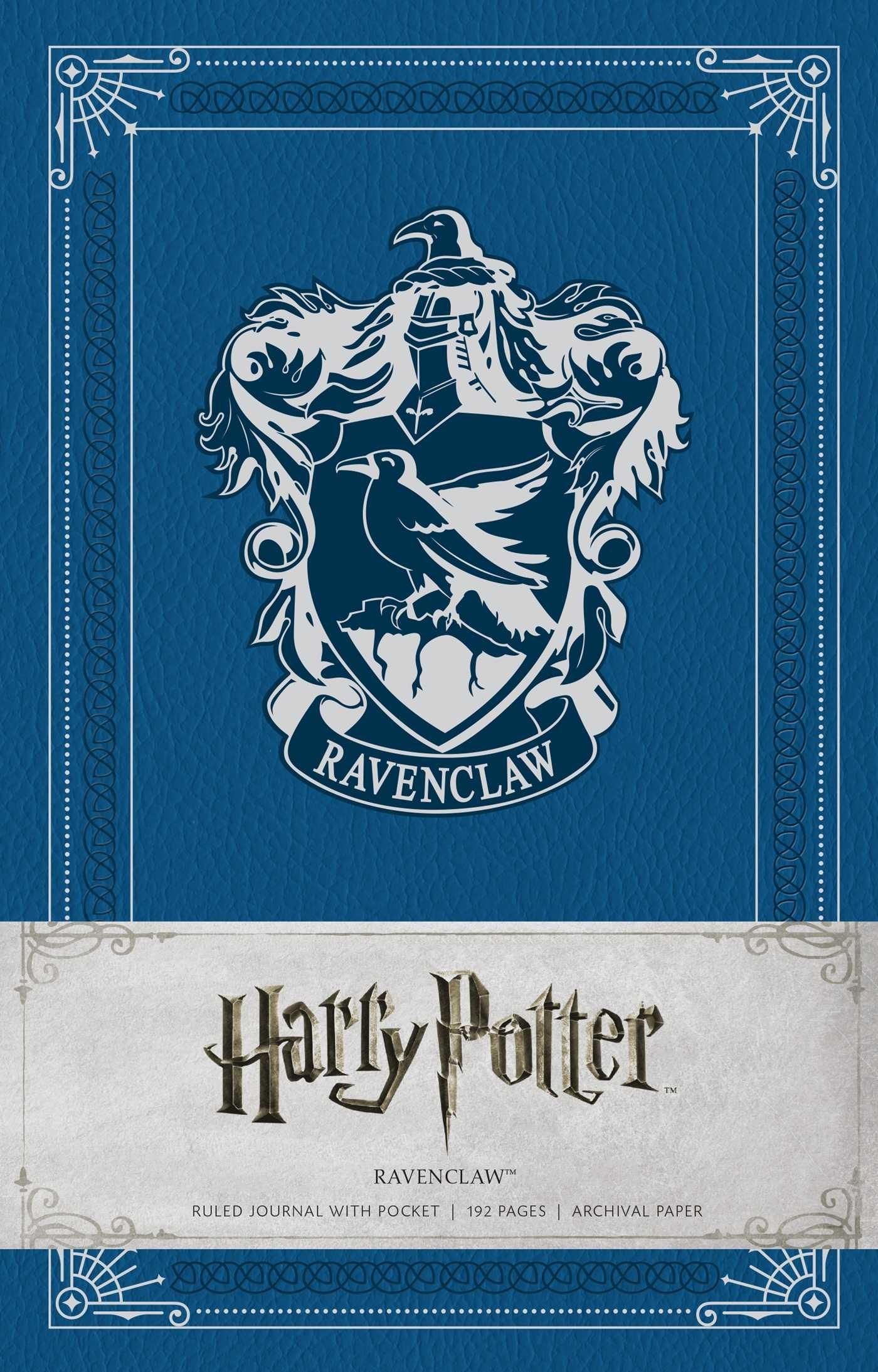 Harry potter ravenclaw hardcover ruled journal 9781608879496 hr …