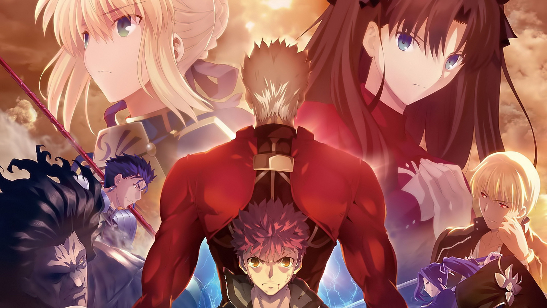 Anime – Fate/Stay Night: Unlimited Blade Works Wallpaper